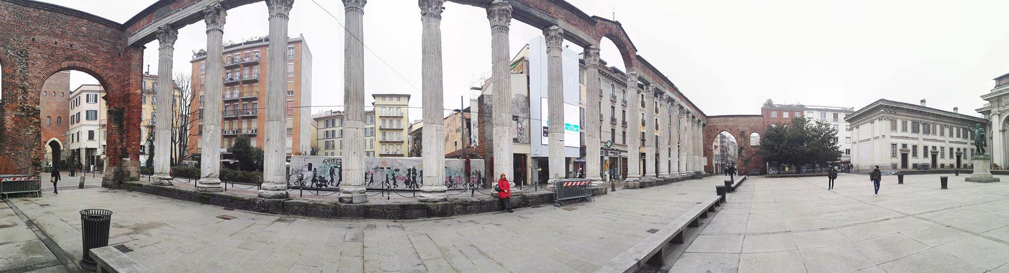 Foto panoramica di Milano