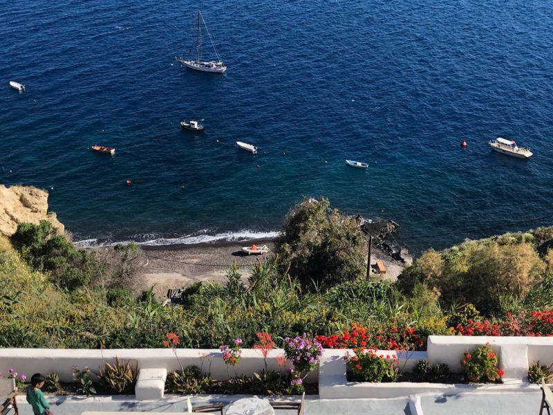 bagno a Santorini