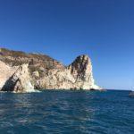 Swim in Santorini