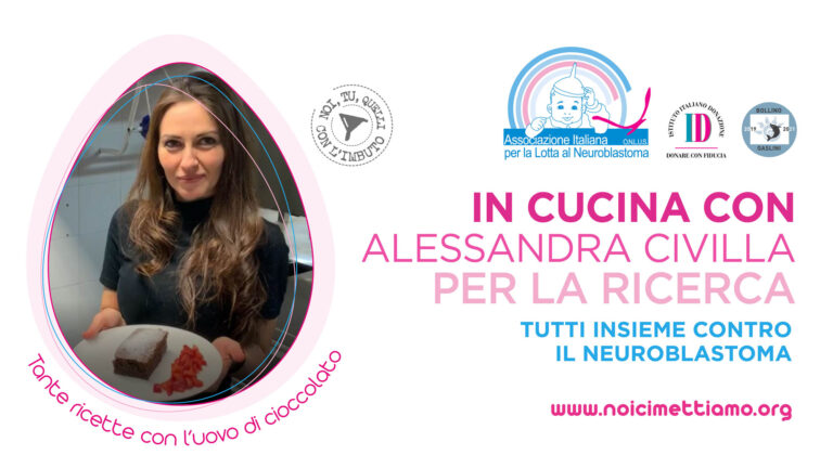 In cucina per la ricerca contro il Neuroblastoma